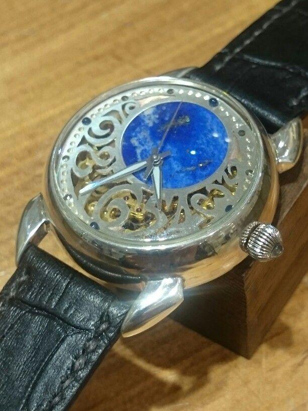 Silver  Handmadewatch