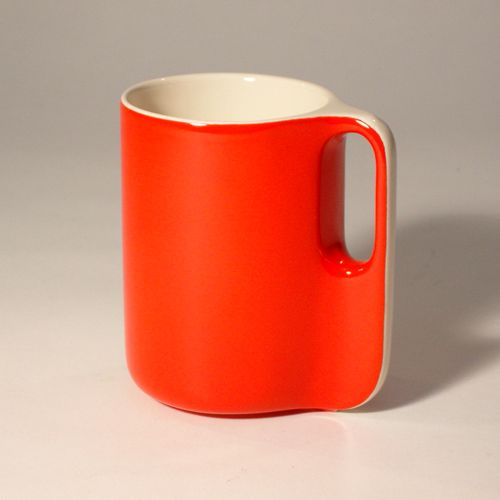 Ten Collection by french Sentou. This one: An orange mug.