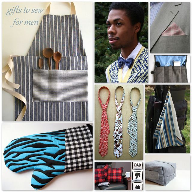 Round Up: 9 Gifts to Sew for Men - A Sewing Journal - A Sewing Journal