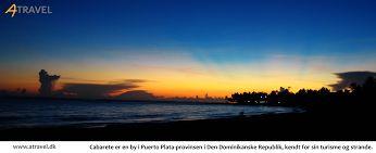 Cabarete er en by i Puerto Plata-provinsen i Den Dominikanske Republik, kendt for sin turisme og strande