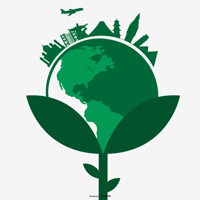 Green Earth City Green Vector Earth Vector City Vector Png Transparent Clipart Image And Psd File For Free Download Earth City City Vector Green Earth