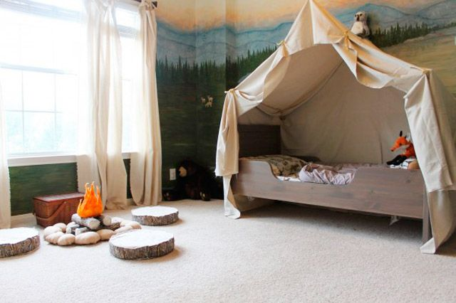 M s de 1000 ideas sobre camas para tienda de campa a en - Camas infantiles originales ...