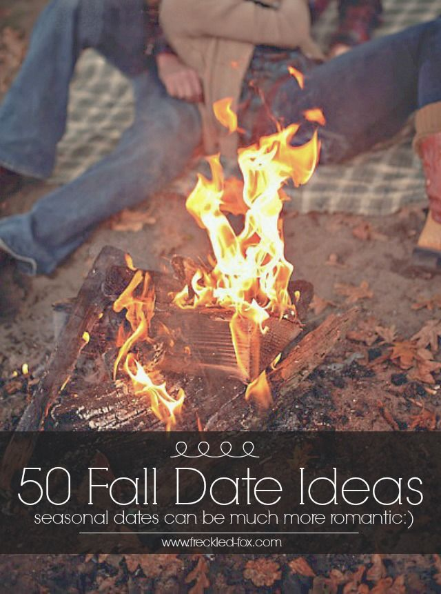50 Fall Date Ideas  Usually don't repin these but I'm OBSESSED with fall