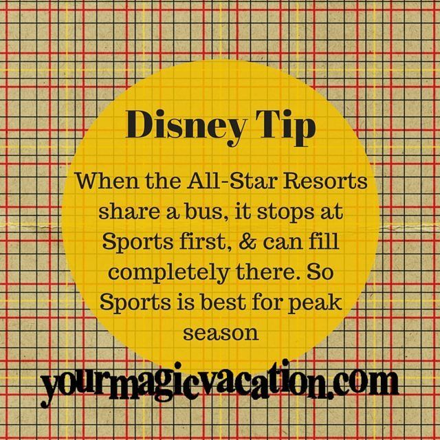 Disney's All-Star Sports is my favorite All-Star Resort what's your favorite? #DisneyTip