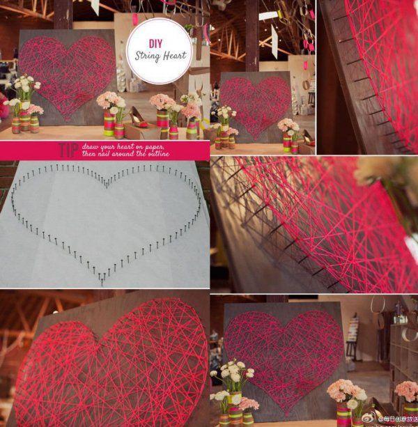 SERCE 3D, czyli świetna dekoracja na weselu lub do Waszego domu!
