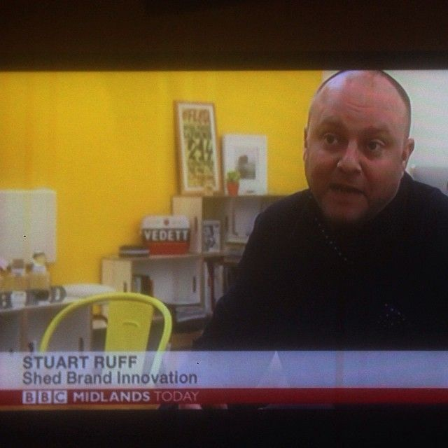 Stu on telly 2