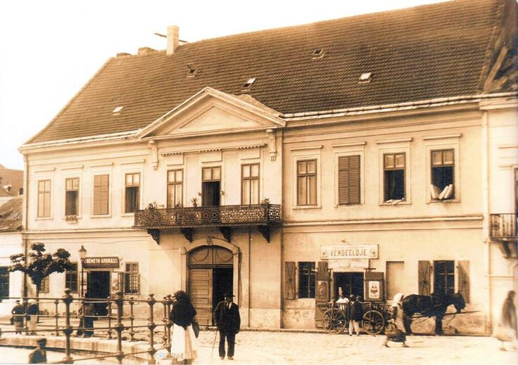 Az Égő-arany helyén állt a Schaffer-ház...