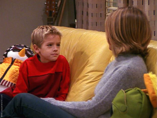 """35 Famous Faces You Probably Forgot Were On """"Friends""""  - Cole Sprouse (Ben Gellar in Seasons 6-8)"""