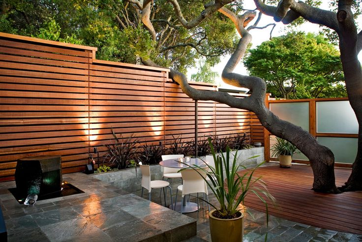 """Today we have a collection of beautiful modern fence design ideas in the form of pictures for your inspiration. Checkout """"25 Beautiful Modern Fence Design Ideas""""."""