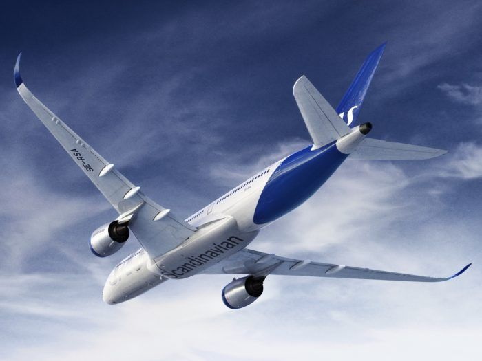 Scandinavian Airlines Is Hoping That It Can Improve Ground Operations Via Its Smartphone App Photo Sas