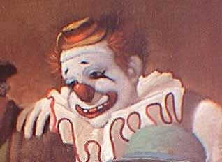 Felix Adler - painting from his induction into the Clown Hall of Fame  http://famousclowns.org/famous-clowns/felix-adler-biography/