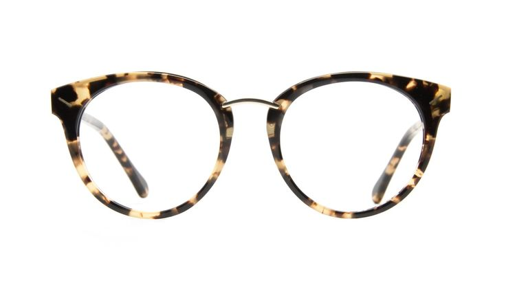 Element Gold tort - Nerd chic alert! Round with a subtle cateye, Element is the essential accessory for the ones that wants the trendiest glasses of the season.