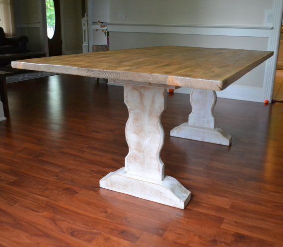 25 best ideas about Farm dining table on Pinterest