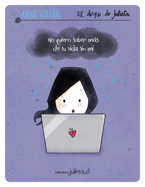 El diario de Julieta - amor virtual www.julieta.cl