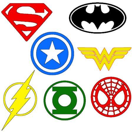 INSTANT DOWNLOAD Super Hero digital cut files for by bibberberry