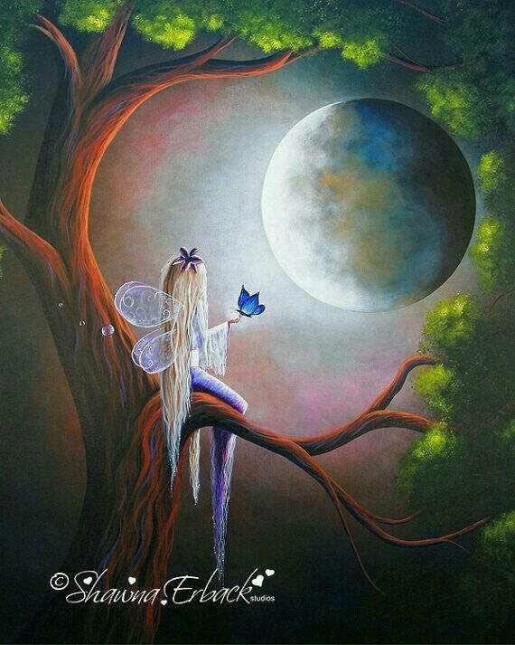 Fada e Lua.
