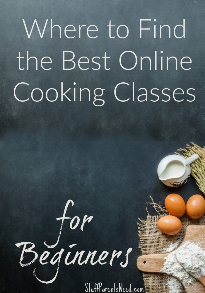 Here's where I have had success with online cooking classes for beginners. The prices are reasonable (and they even have several courses that are totally FREE!).
