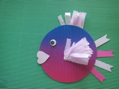 The fish-paper craft