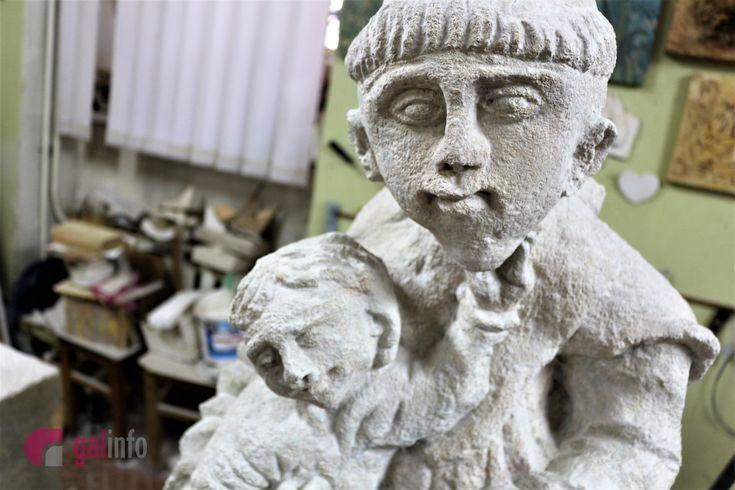 Реставратори врятували скульптуру св Антонія з Бучача розгадані секрети