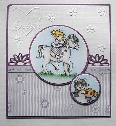 Transparent Stempelset: My Little Horse - Hobby-Crafts24.eu