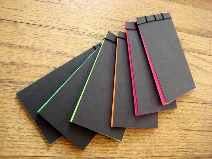 Stab bound notebooks