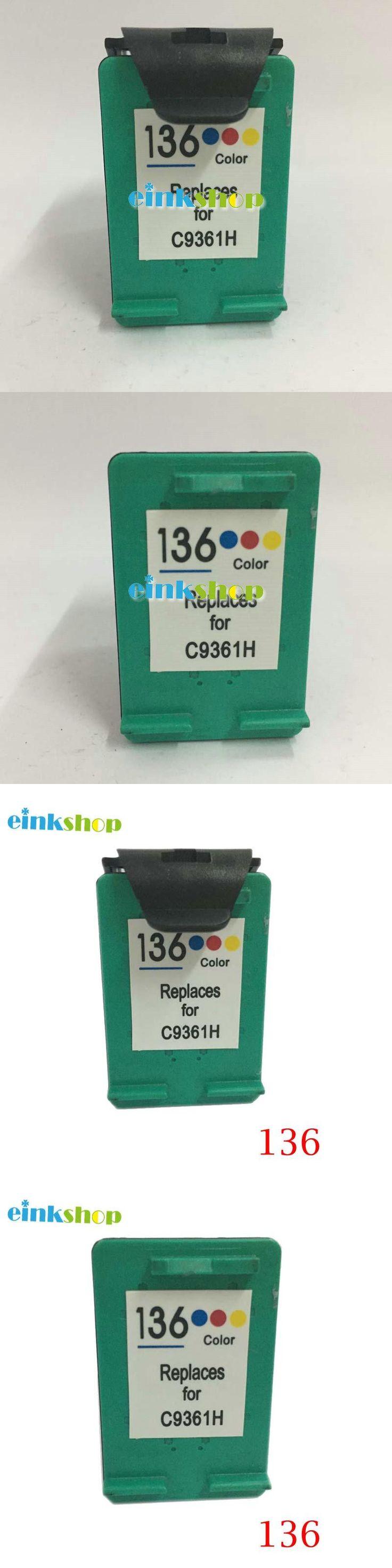 Ink Cartridge For HP 136 HP136 For HP ficejet 6213 Deskjet 5443 D4163 smart 2573 C3183