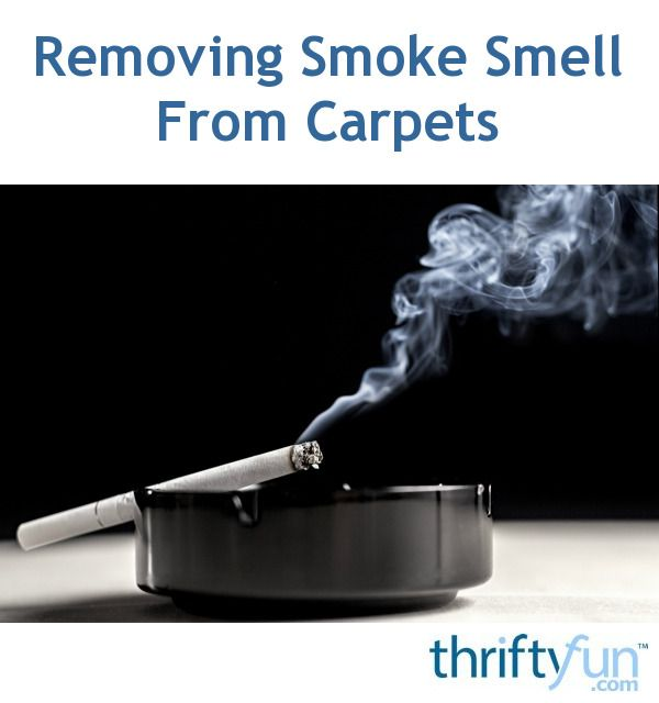 how to get rid of smoke smell from a house