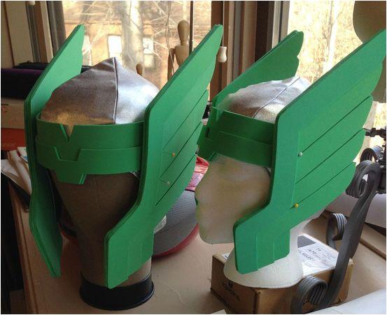 Craft Foam Helmet Tutorial | Andrea Schewe | VERY THOROUGH