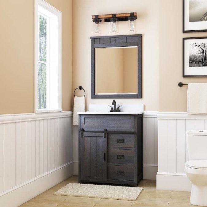 25++ Style selections morriston 30 single sink bathroom vanity white wsl30b custom