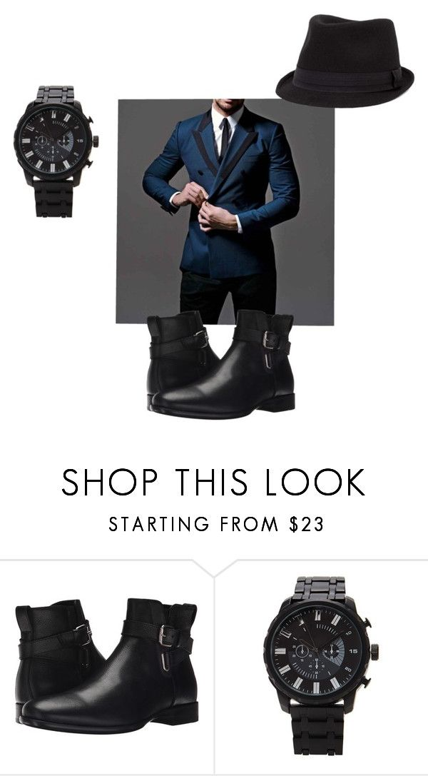 """Untitled #212"" by tiarose99 ❤ liked on Polyvore featuring Aquatalia by Marvin K., 21 Men, BKE, men's fashion and menswear"
