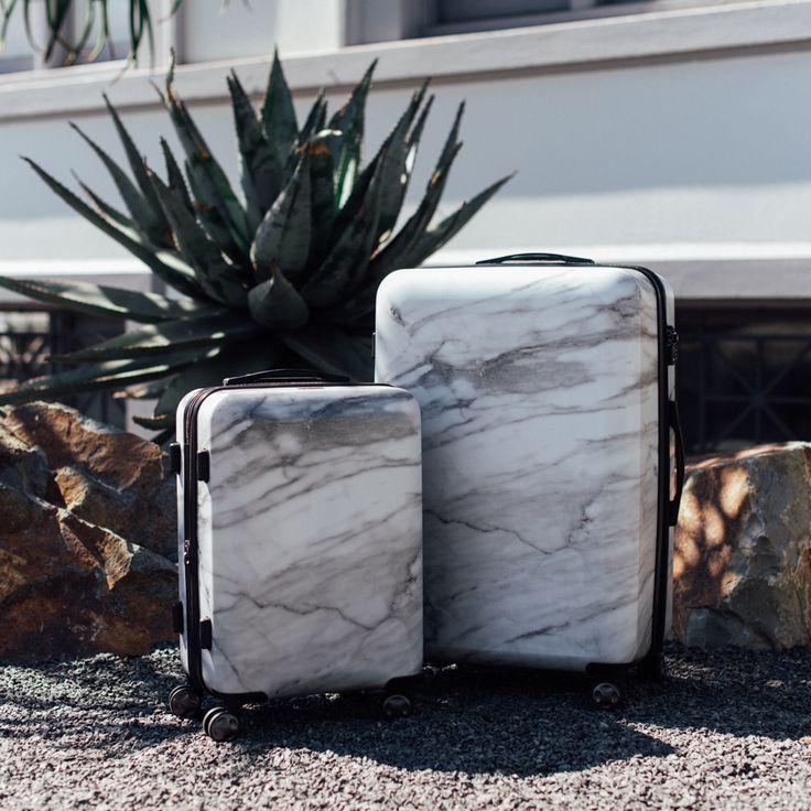 VIDA Leather Accent Tag - Summer Cactus Travel Tag by VIDA lpEIL