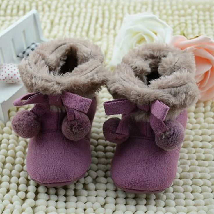 >> Click to Buy << Winter Boots Baby Snow Boots Warm Toddler Shoes Snow Crib Shoes for Gril Infant Newborn Baby Shoes First Walker Footwear 0-18m #Affiliate