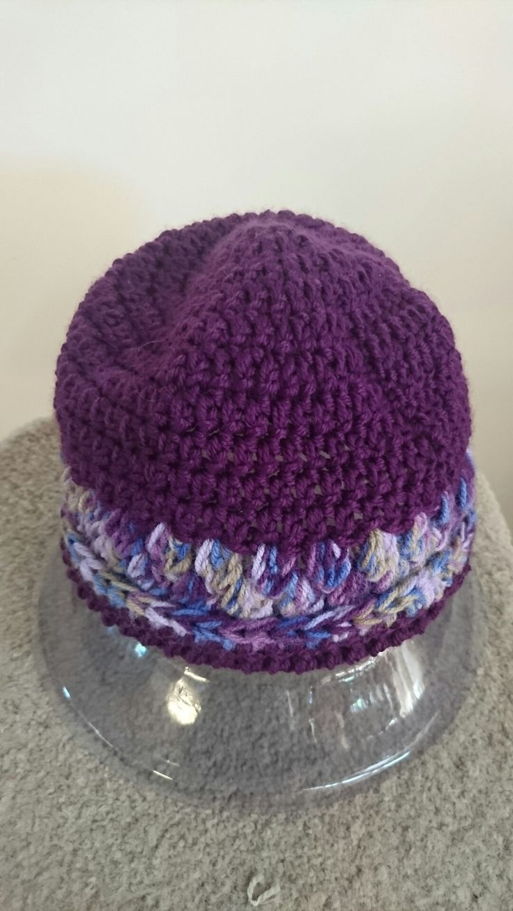 Crochet beanie,  washable babies to adults