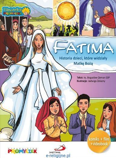 Wydawnictwo PROMYCZEK: FATIMA - Historia dzieci, które widziały Matkę Bożą (komiks + DVD) sklep chrześcijański - religijne filmy dla dzieci