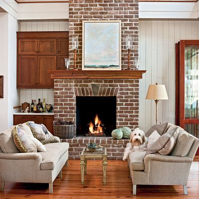 southern living family rooms. 207 best Home Decor  family room spaces images on Pinterest Brick exteriors Central park and Custom homes