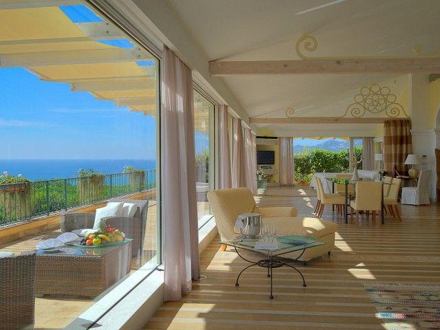 Hotel Castello in Forte Village Resort, Santa Margherita di Pula.