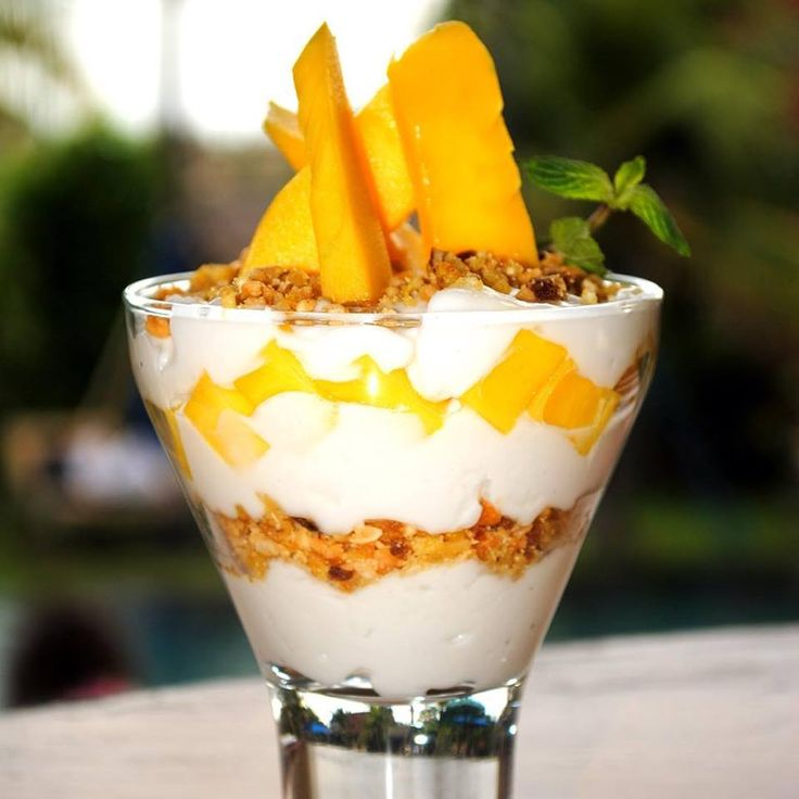 #HOTELS #SWD #GREEN2STAY Desa Seni  Coconu mango custard with peanut brittle! My favorite sweet! What's yours? #desaseni #organic#farmtotable #community #breakfast #lunch#dinner #canggu #bali -  http://green2stayecotourism.webs.com/mex-sth-america-eco-hotels