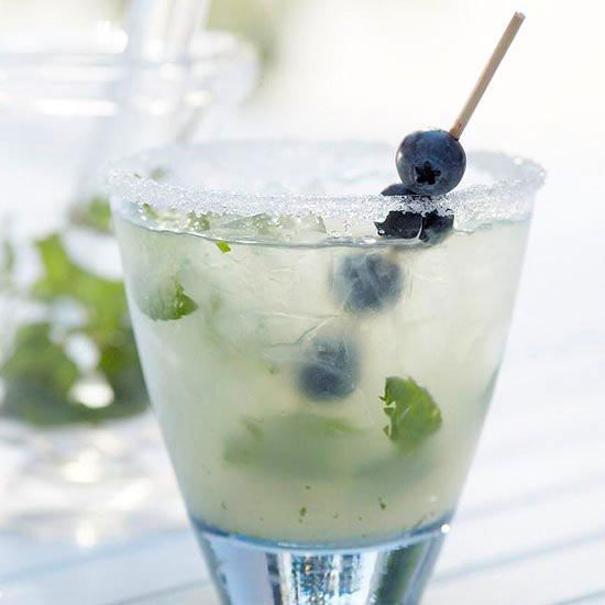 meets classic martini in this sophisticated blueberry cocktail. Acai ...