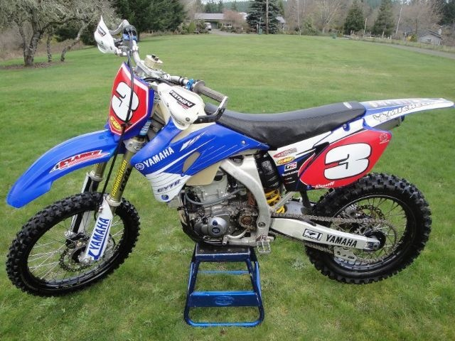 2007 yamaha yz450f dirt bike for sale in hillsboro or. Black Bedroom Furniture Sets. Home Design Ideas