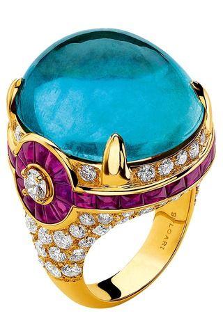 Bulgari anillo estilo-bizantino