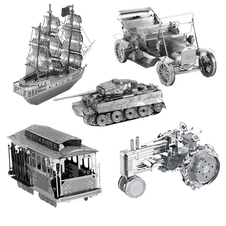 Make Your Own Selection: Ships and Vehicles Metal Models //Price: $10.95 & FREE Shipping //     #3DMetaltoys #Metal #Puzzle #3D #3DPuzzle #metalpuzzle #metalpuzzles #3dmetalpuzzles