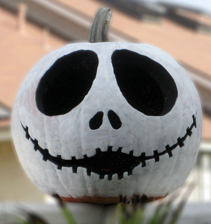 Jack Skellington pumpkin | #Halloween #Decor