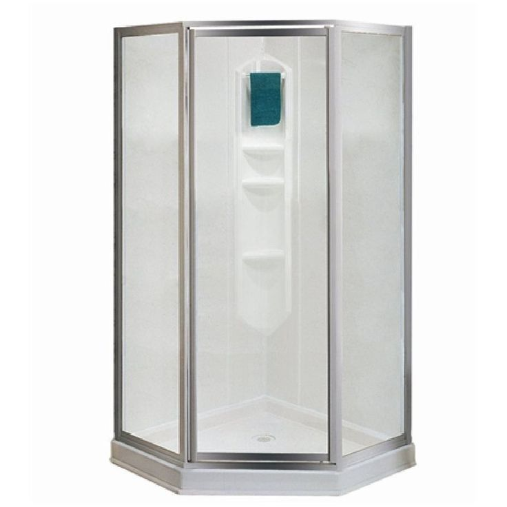 Shop Maax Shower Solution H x W x L White Neo Angle Corner Shower Kit at  Lowe  Canada  Find our selection of shower stalls at the lowest price  guaranteed  Best 25  Corner shower kits ideas on Pinterest   Corner showers  . Lowes Corner Shower Kit. Home Design Ideas