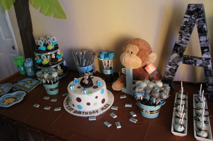 monkey boy baby shower birthday party ideas pinterest the o 39