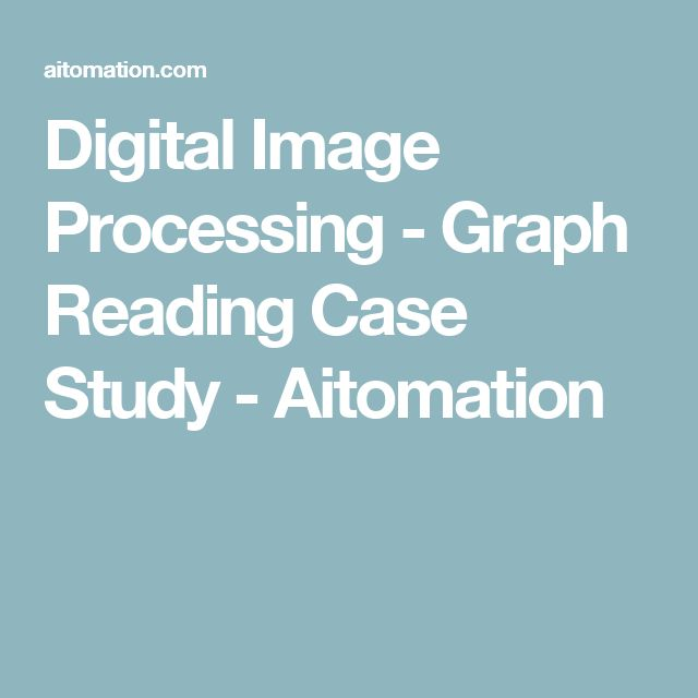 Digital Image Processing - Graph Reading Case Study - Aitomation