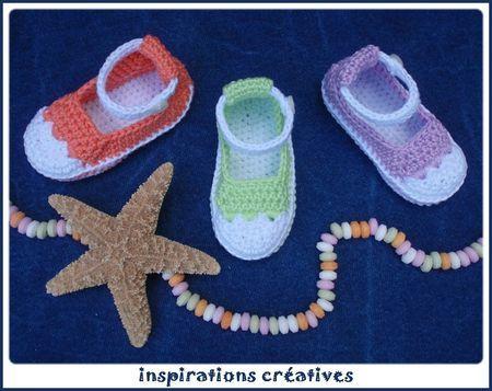 Tuto baby baskets au crochetTuto Baby, Baby Tennis, Baby Baskets, Baby Crochet, Tennis Pattern, Crochet Pattern, Crafts, Crochet Clothing, Crochet