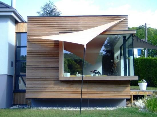 322 best images about maison en bois on pinterest construction nantes and chalets - Agrandissement maison veranda ...