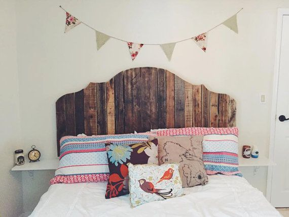 Queen Pallet Headboard  Variety of Styles by TheAnchoredNest