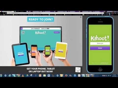 How to set up kahoot