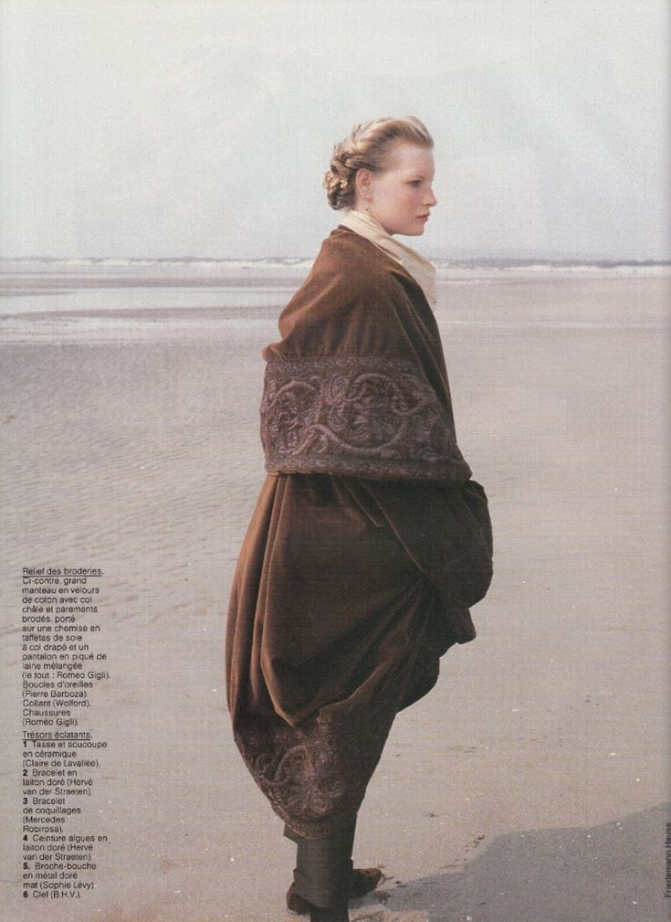 ☆ Kirsten Owen | Photography by Friedemann Hauss | For Elle Magazine France | September 1989 ☆